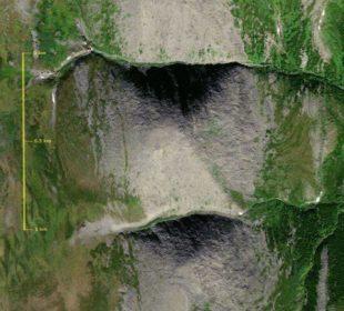 Уральские туристы нашли в безлюдных горах огромную пирамиду