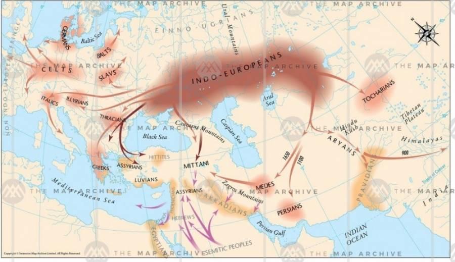 индо-европейцы в курганной гипотезе