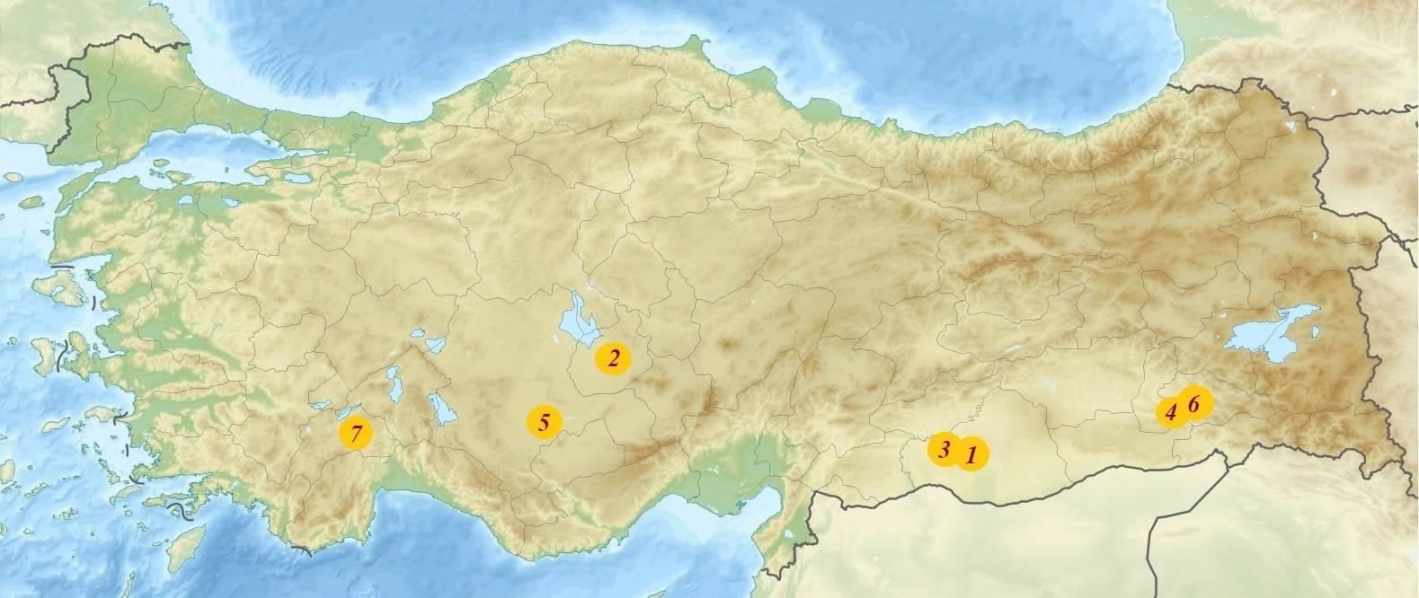 Древнейшие города Турции