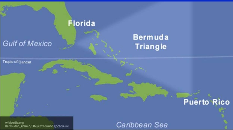 Из Бермудского треугольника вернулся корабль-призрак
