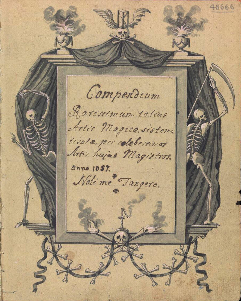 Демонология и магия книга 18 века о ведьмах