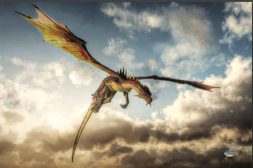 ожвиший дракон