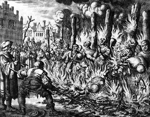 сожжение ведьм в Европе