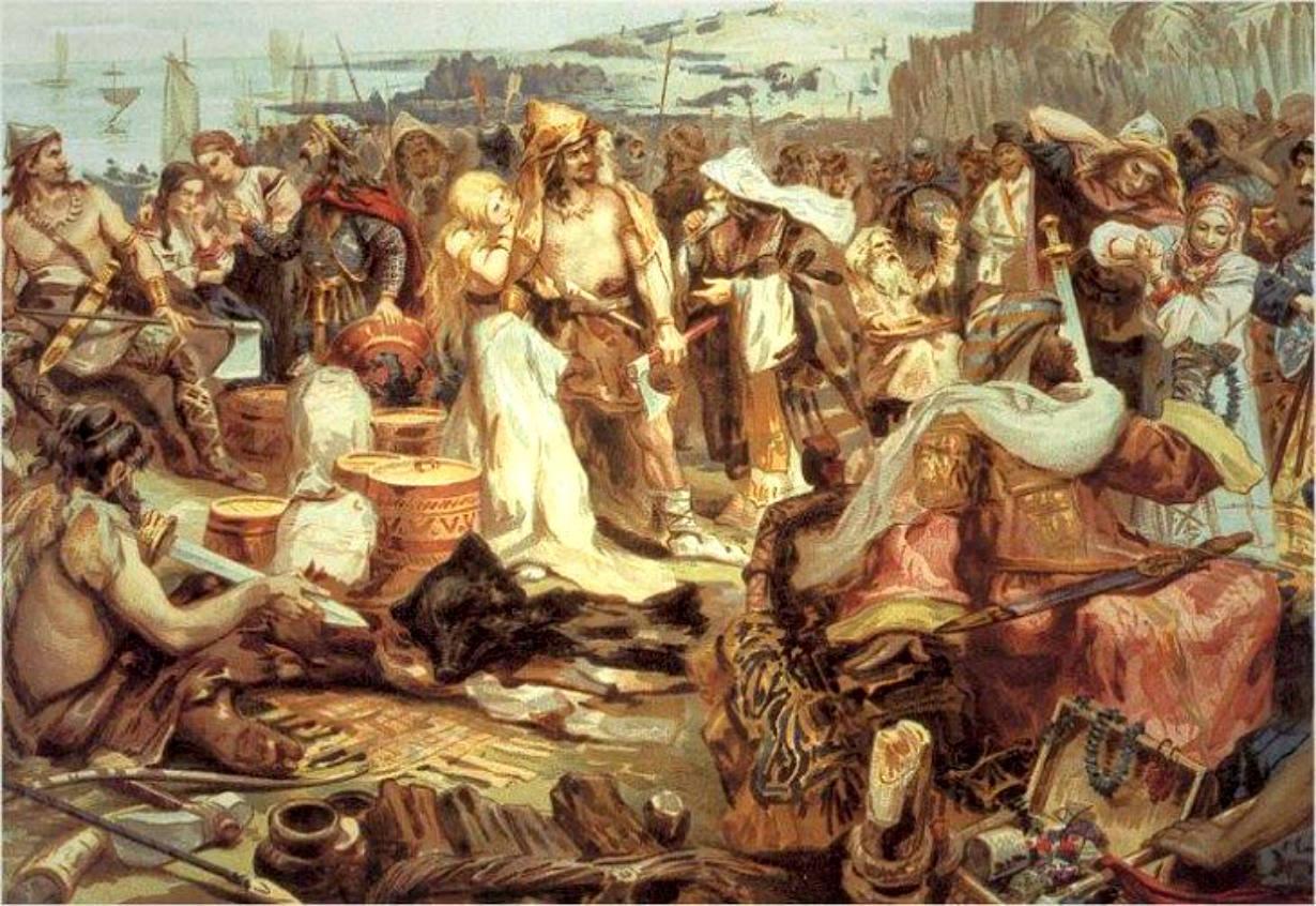 хазарский еврей радхонит