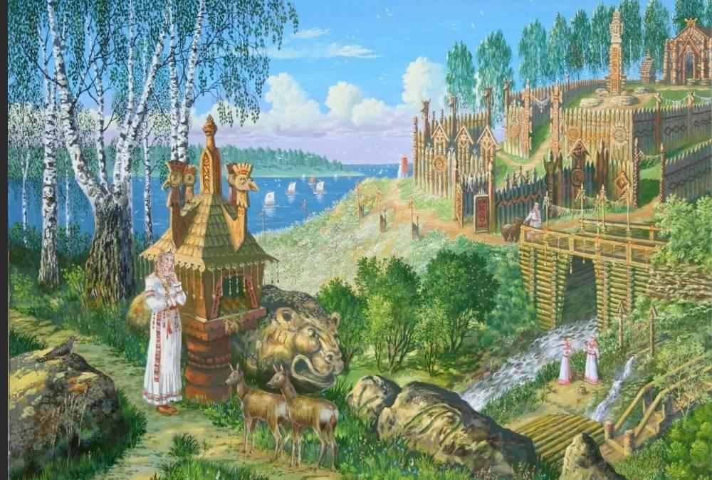 славянская Ведическая Русь