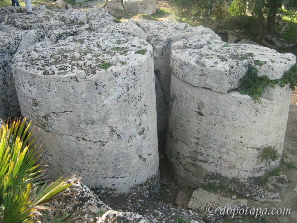 Каве ди Кусо, Сицилия