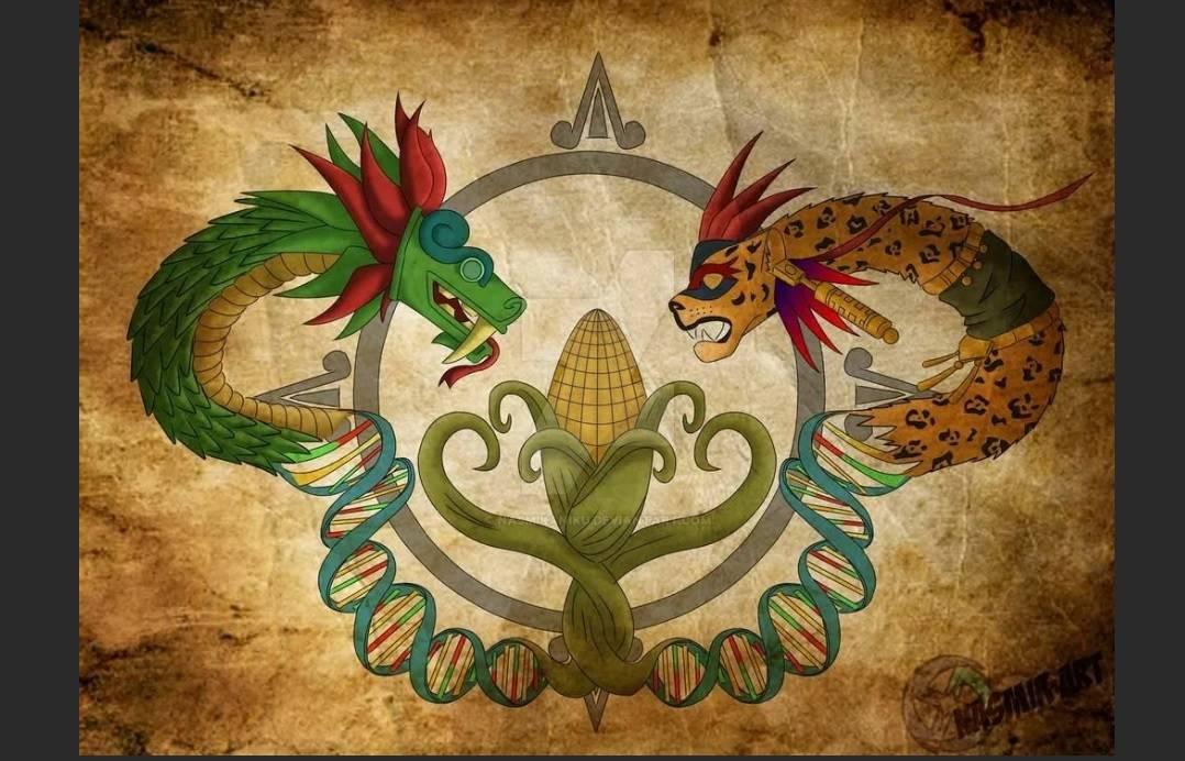 Кукуруза Кукулькан бог кукурузы