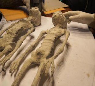 Трехпалые мумии Перу