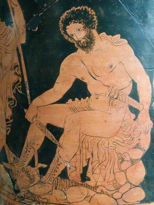 Троянский конь Одиссей - в древнегреческой мифологии царь острова Итака.