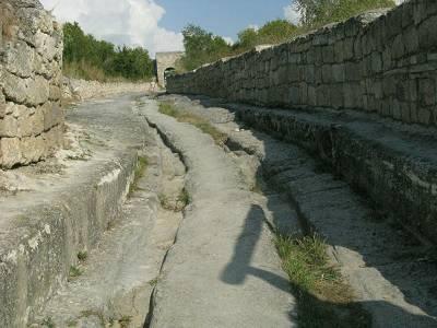 каменные колеи