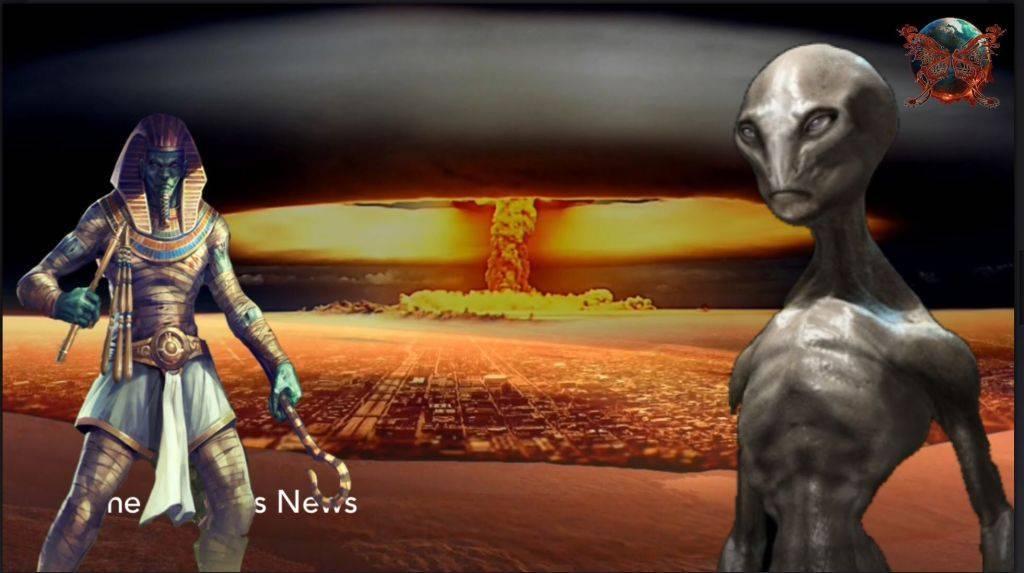 В прошлом на Земле была ядерная война