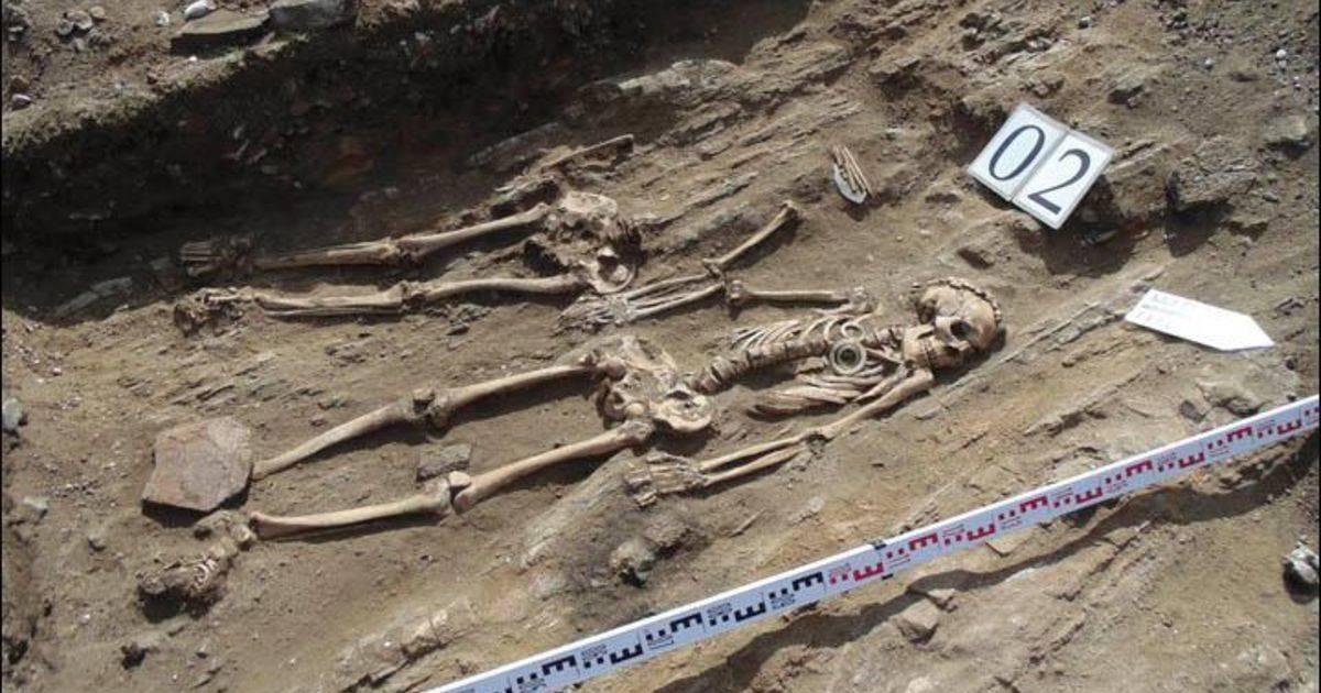 находки скелеты влюбленных