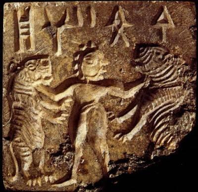 древние петроглифы в Индии
