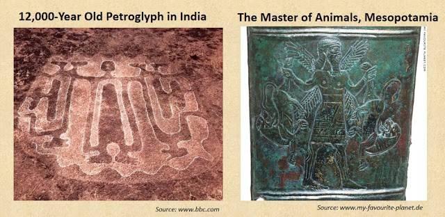 древние петроглифы