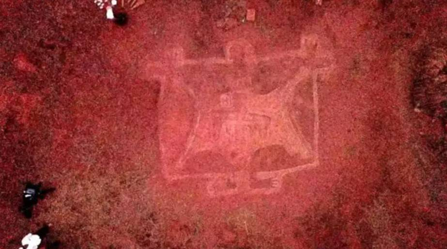 древние петроглифы Ратнагири в Индии