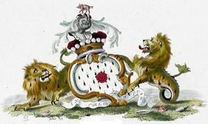 эмблема Виконта Фэлмута (геральдика британского дворянста 17-го века)