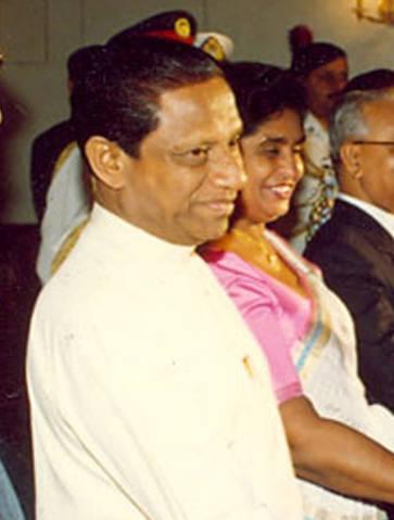 Президент Шри-Ланки Ранасингхме Премадаса