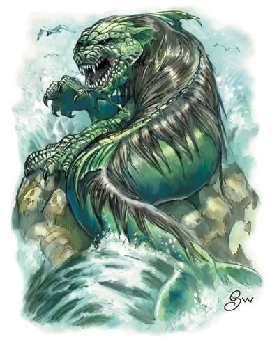 Леокампос - монстр Индийского океана