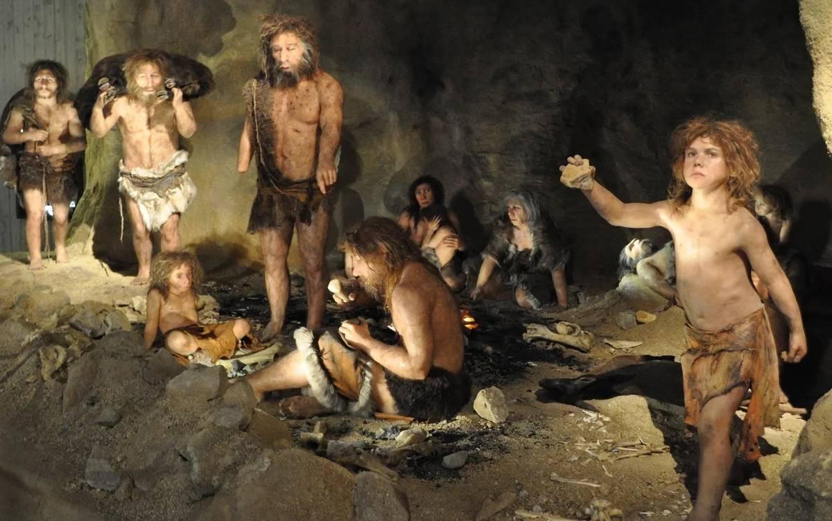 сапиенсы и неандертальцы в Европе
