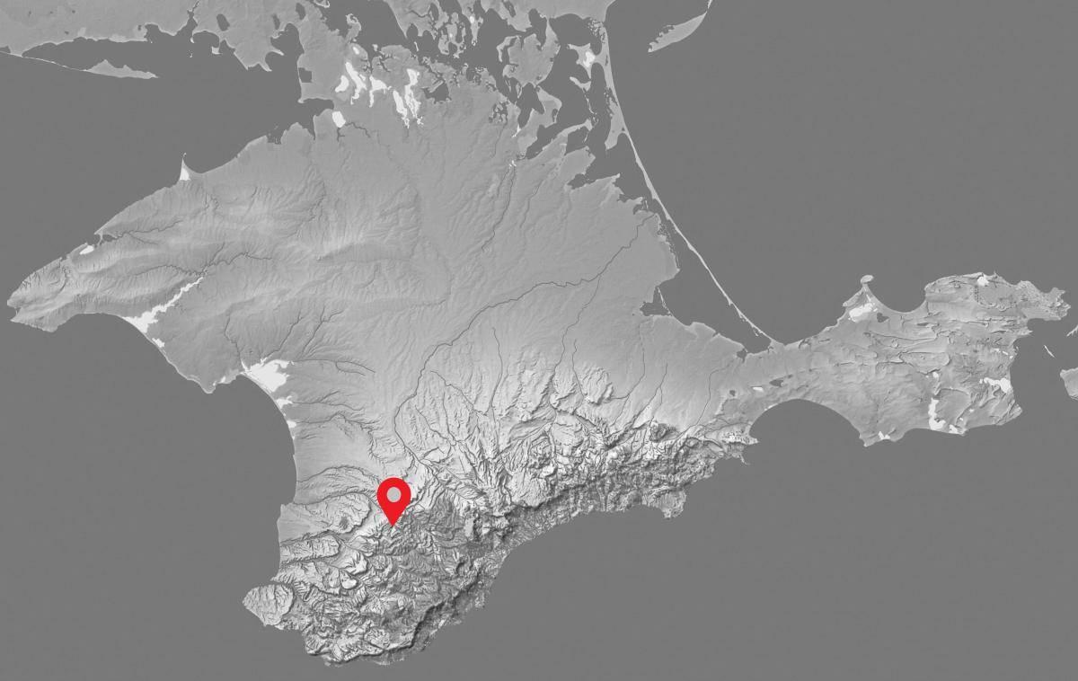 стоянка древнего сапиенса в Крыму