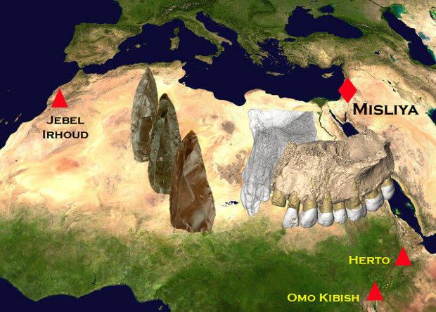стоянки древнего сапиенса
