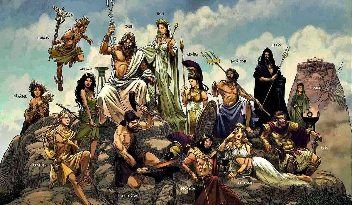 боги и дети богов древнегреческий пантеон богов