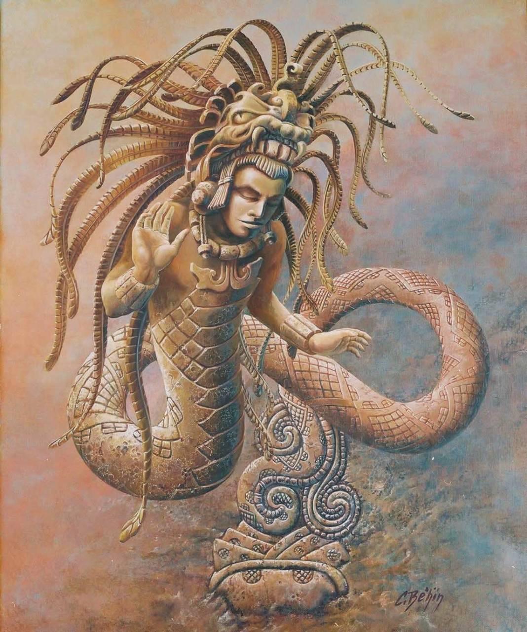Многоликое божество Какулькан.