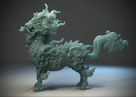 Цилинь китайский единорог