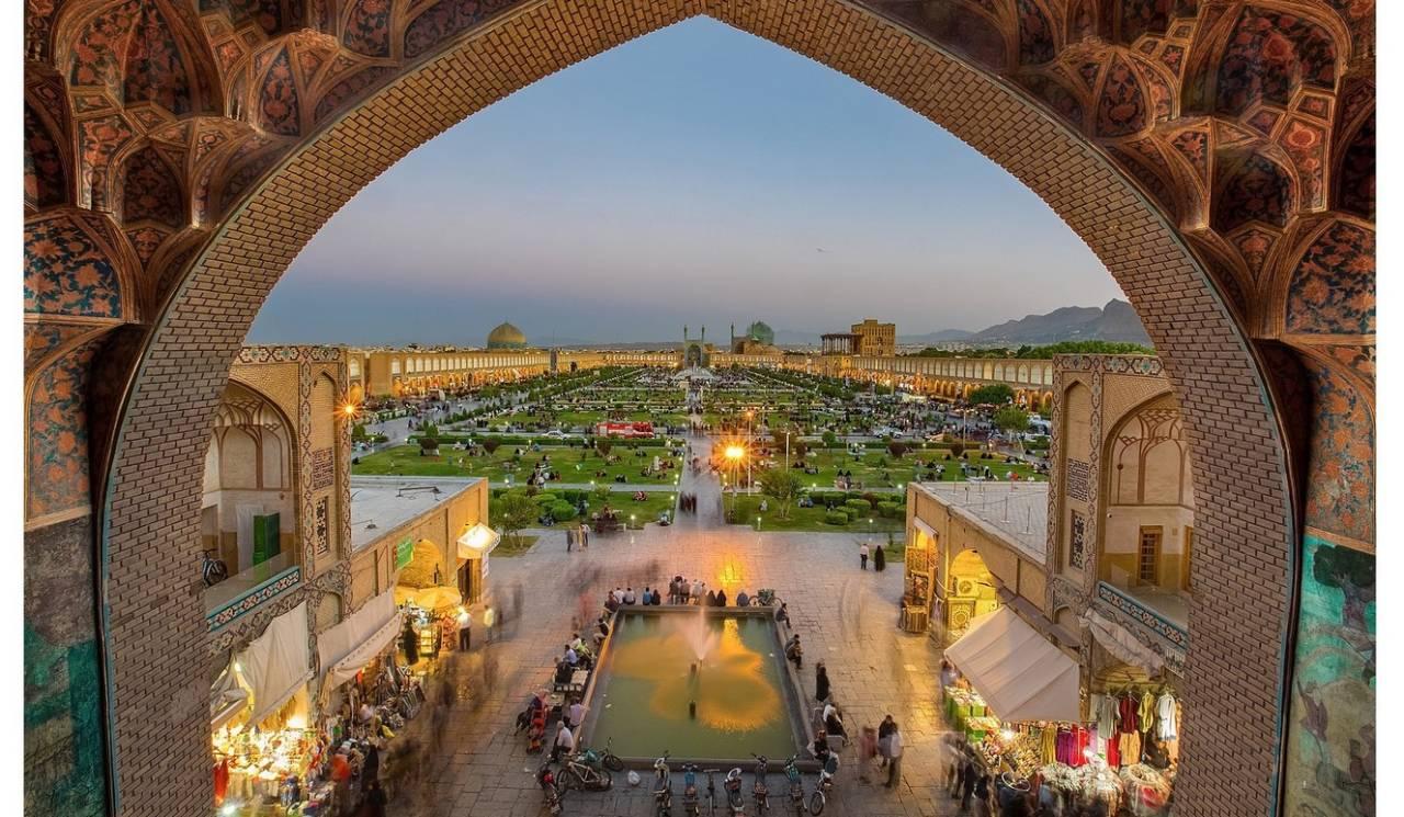 Исфахан древний город