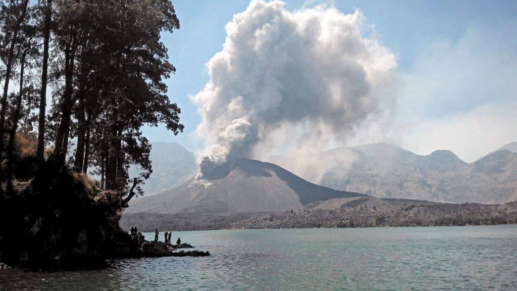 извержение супервулкана Тобы Индостан
