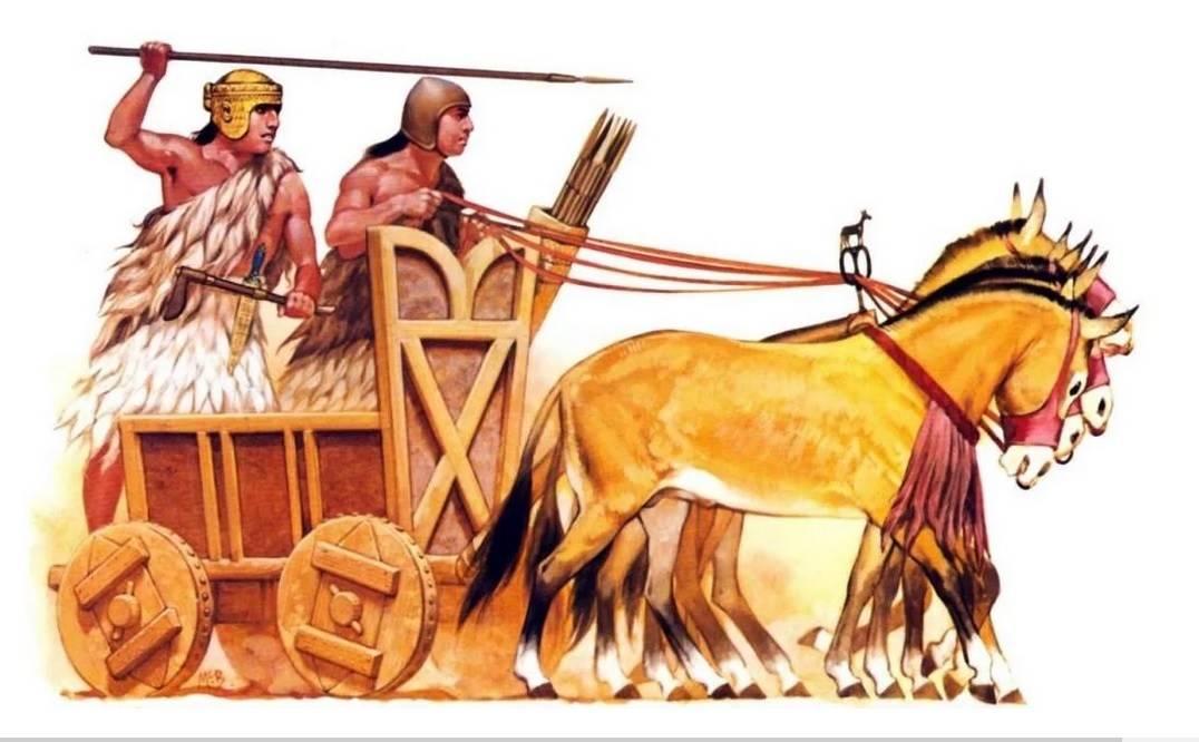 шумерская колесница