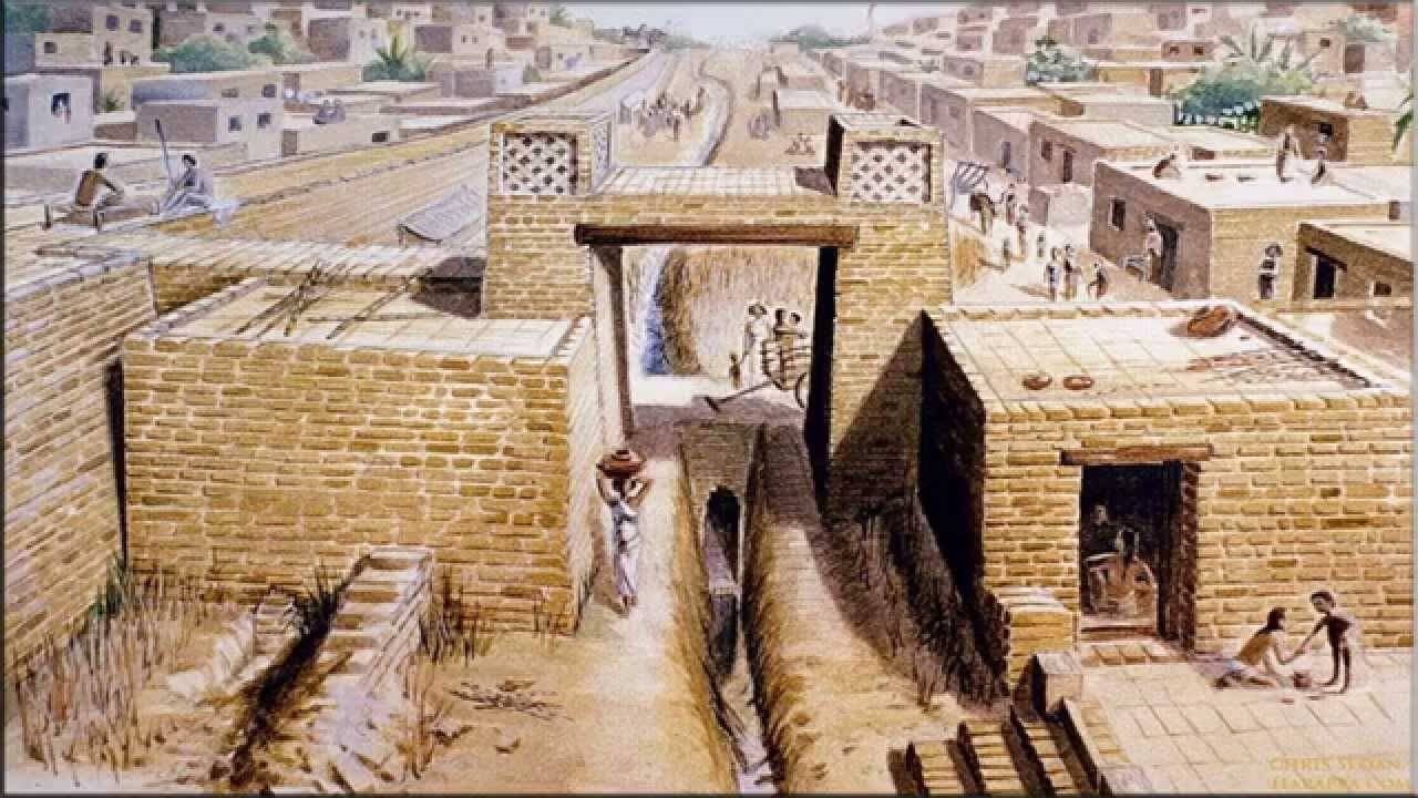 Мохенджо-Даро древний город индийской цивилизации