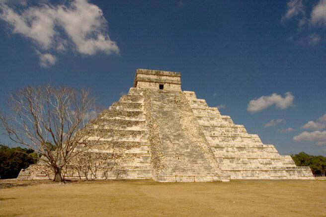 Пирамида Кукулькан.