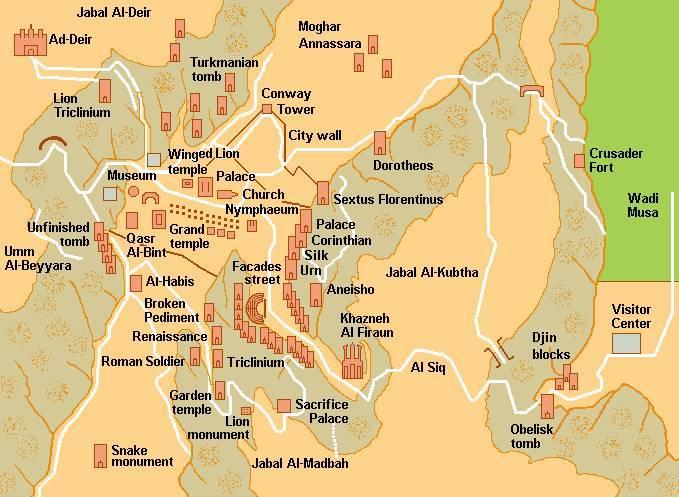 Петра древний город