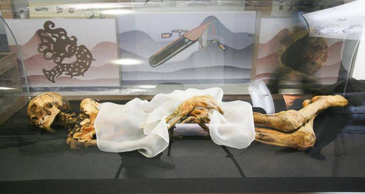 мумия алтайской принцессы Укока