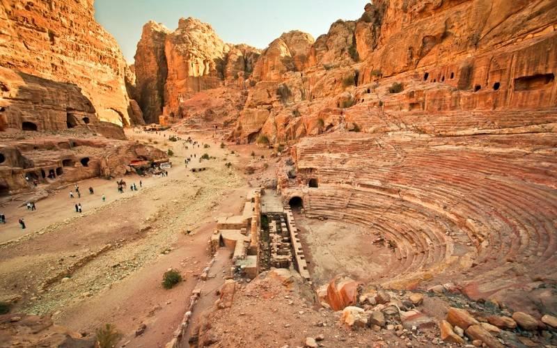 Петра древний город набатеев