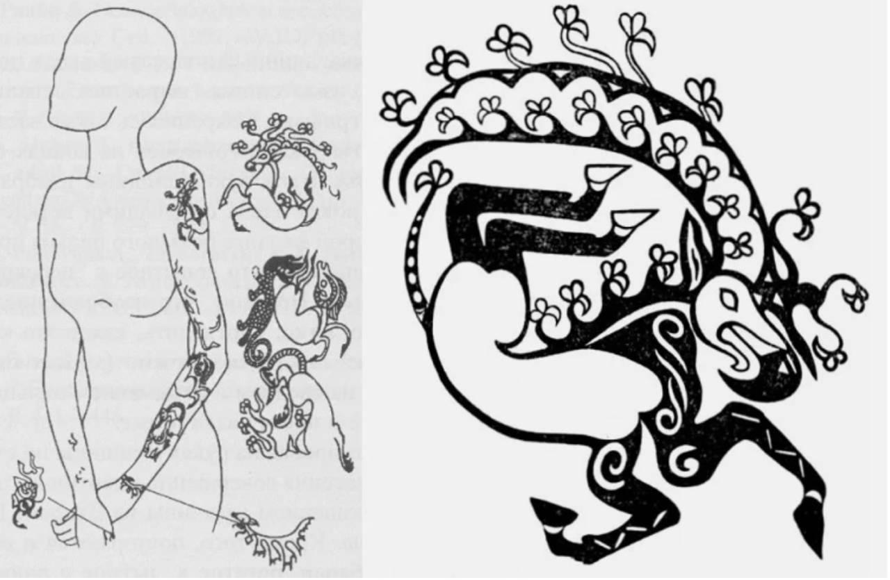 татуировка на руке принцессы