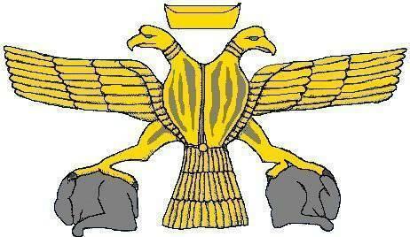 двуглавый орел - символ Хеттского царства.