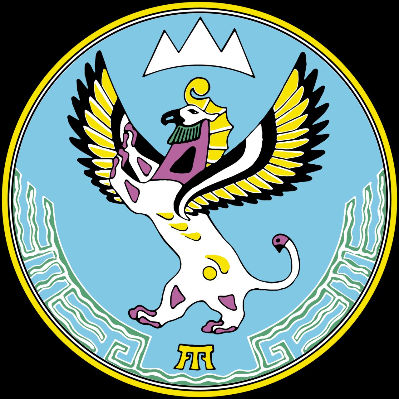 Герб Республики Алтай.