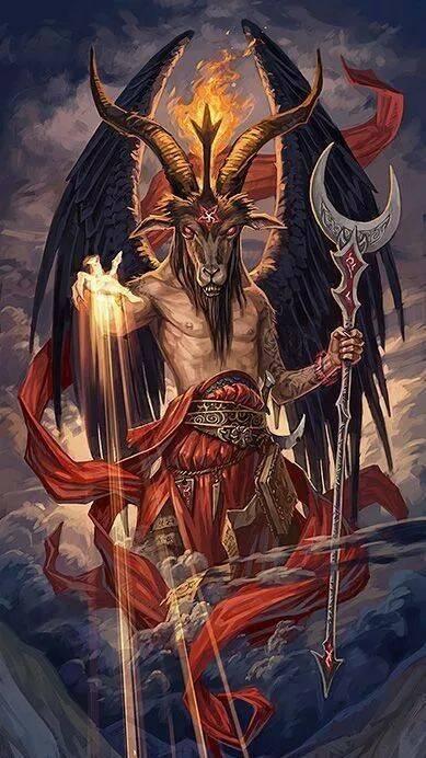Козлоподобный демон. Бафомат
