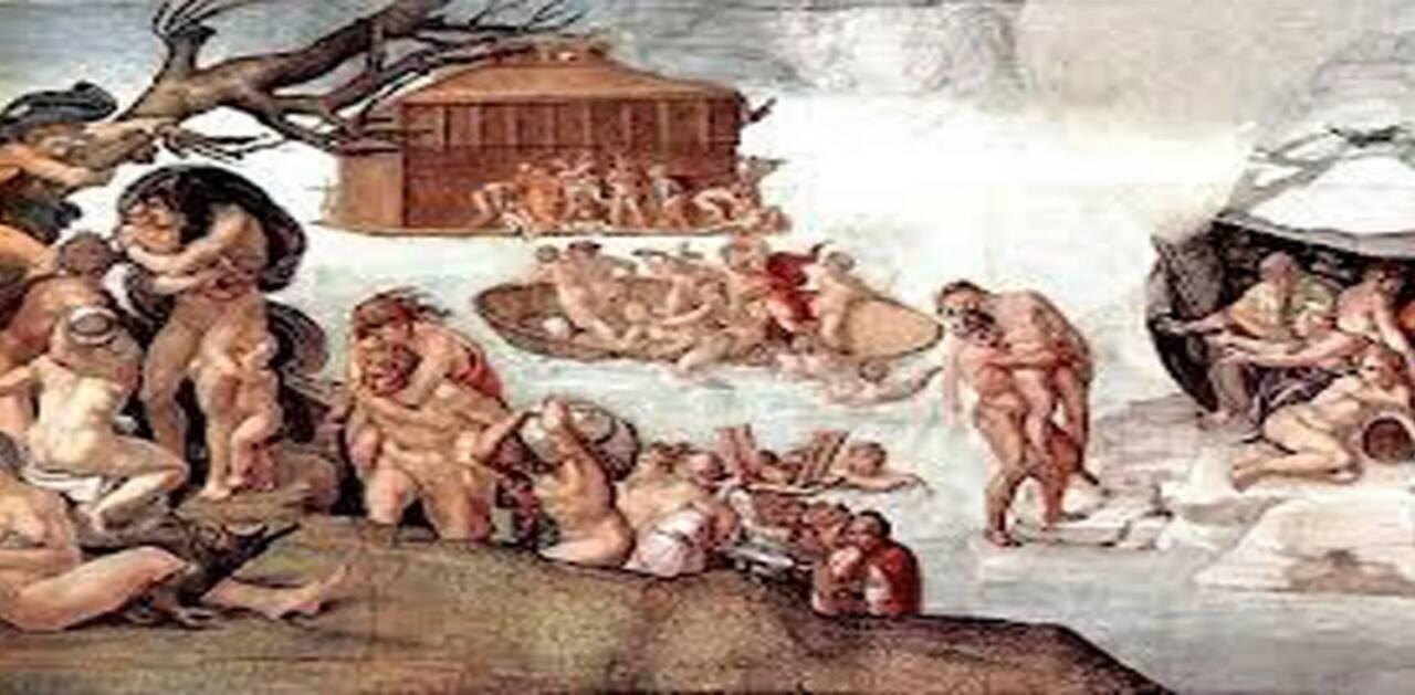 Платон атлантида Девкалионов потоп