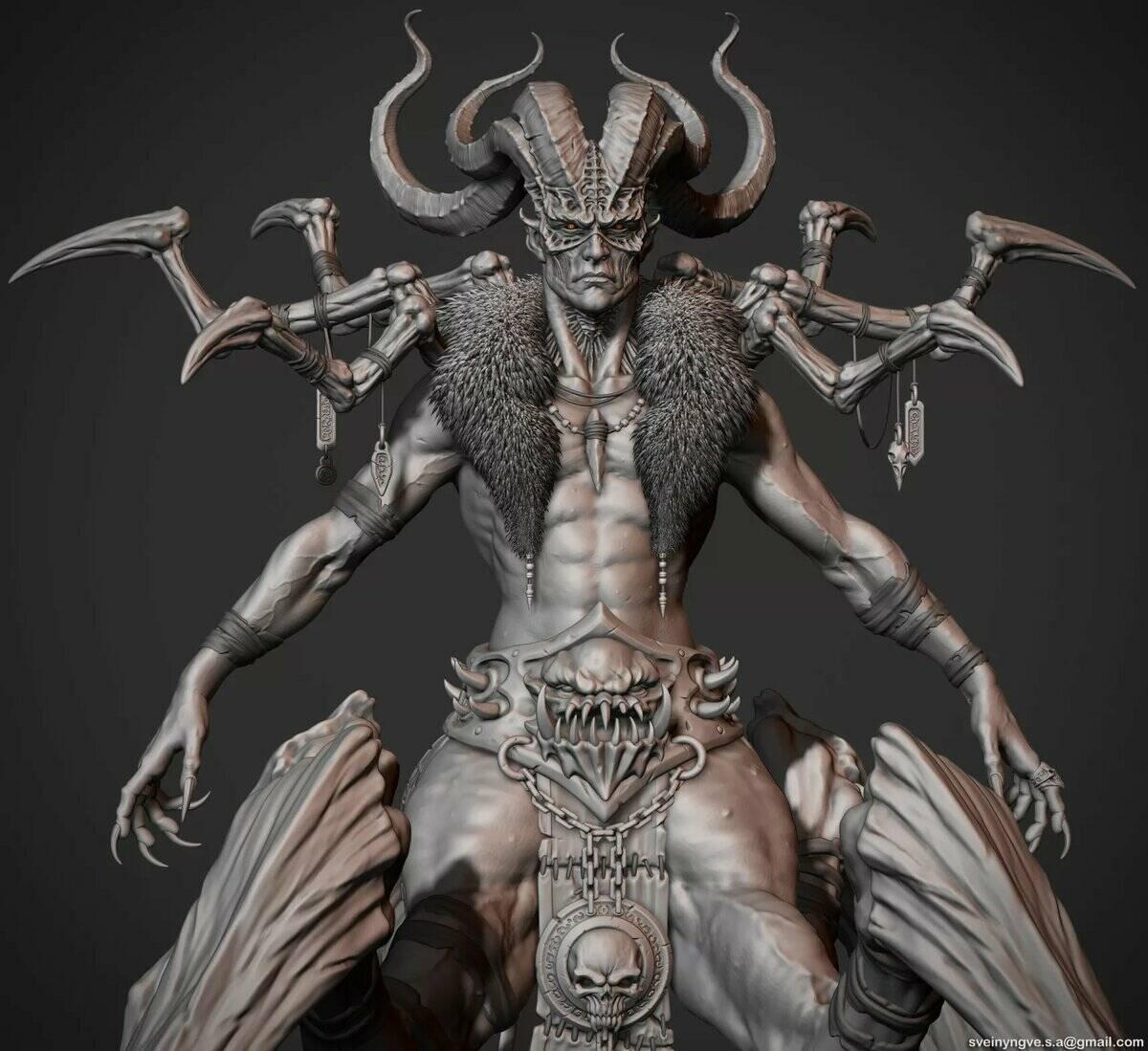 Бааб Зебуба - демон, первый помощник Люцифера.