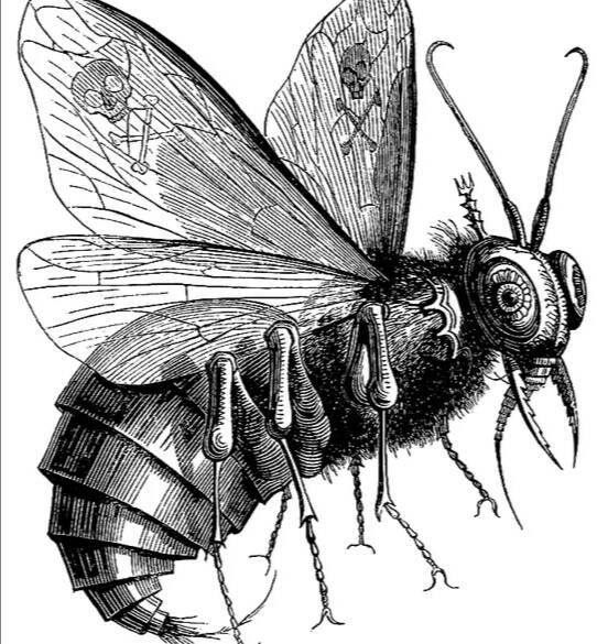 Вельзевул - демон в виде мухи, помощник Люцифера.