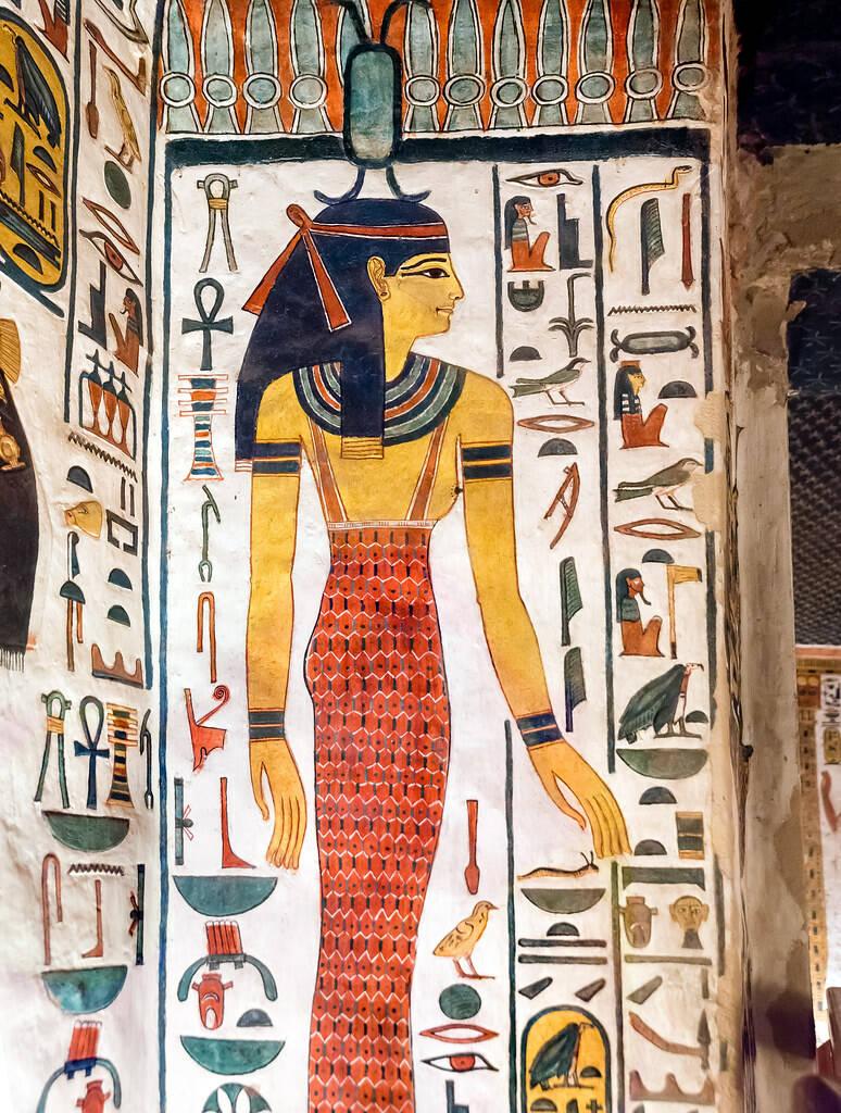 богиня Нейт Саис Египет