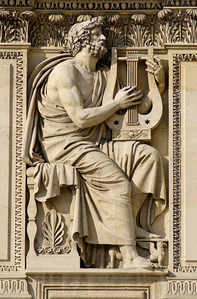 """Гомер, автор эпических поэм """"Иллиада"""" и """"Одиссей"""""""
