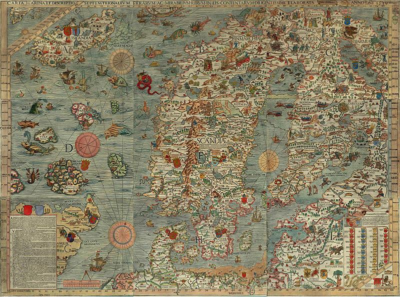 прародина карта мира