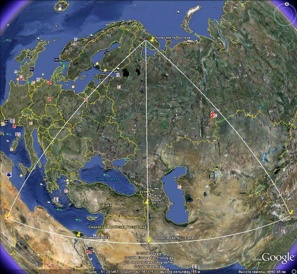 Треугольник цивилизаций