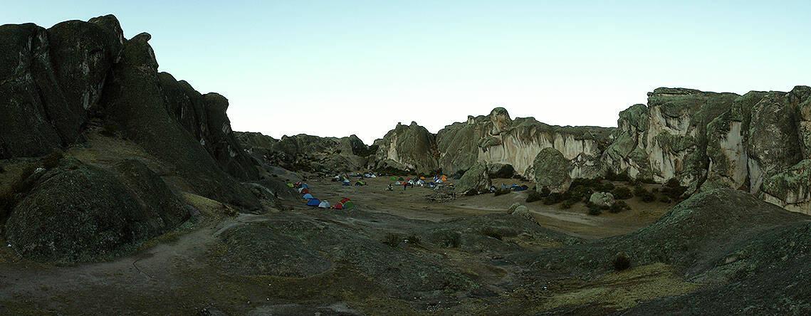 Атлантида: «Перуанская» Псевдо-Атлантида (Колоссы плато Маркауаси)