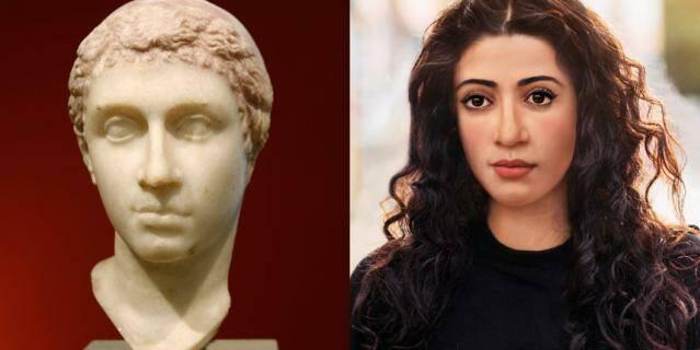 Клеопатра не египтянка