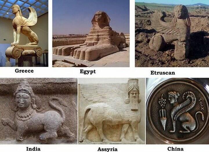 древние культуры сфинксы